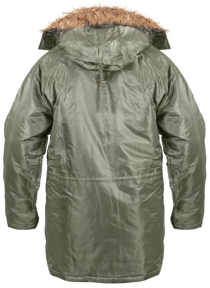 0524128282e Зимняя куртка аляска Rothco N-3B Snorkel Parka Sage 9387 - Зимняя куртка  аляска Rothco