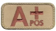 Rothco Airsoft Morale Velcro Patch - A Positive Blood Type # 73190