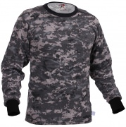Rothco Long Sleeve T-Shirt Subdued Urban Digital Camo - 67780