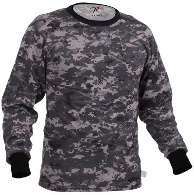 Rothco Long Sleeve T-Shirt Subdued Urban Digital Camo - 67780, фото