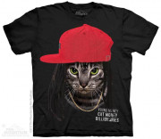 The Mountain T-Shirt Cat Money Billionaires 105966