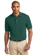 Port Authority Men's Pique Knit Polo Forest