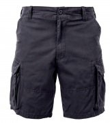 Rothco Vintage Paratrooper Cargo Shorts Black 2130