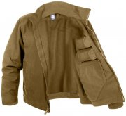 Rothco Lightweight Concealed Carry Jacket Coyote Brown 3801