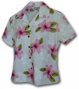Pacific Legend Pink Plumerias Hawaiian Shirts - 348-3551 Pink