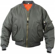 Rothco MA-1 Flight Jacket Sage 7323