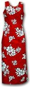 Pacific Legend Long Tank Hawaiian Dresses - 321-3156 Red