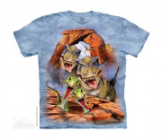 The Mountain T-Shirt Dino Selfie 105854