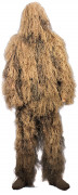 Rothco Lightweight All Purpose Ghillie Suit Desert Tan 64130
