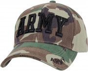 Rothco Deluxe Army Embroidered Low Profile Insignia Cap 3908
