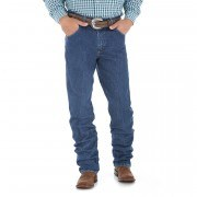 Джинсы мужские Wrangler® George Strait Cowboy Cut® Relaxed Fit Jean # Heavyweight Stone Denim