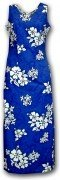 Pacific Legend Long Tank Hawaiian Dresses - 321-3156 Blue