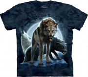 The Mountain T-Shirt Bad Moon Wolves 104859