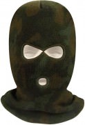 Маска с вырезами Acrylic Three-Hole Face Mask - Woodland Camo - 5596