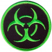 Rothco Airsoft Velcro Patch - Biohazard # 73192