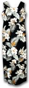 Pacific Legend Long Tank Hawaiian Dresses - 321-2820 Black