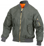 Rothco Lightweight MA-1 Flight Jacket Sage Green 6325