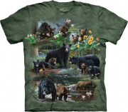 The Mountain T-Shirt Bear Collage 104969