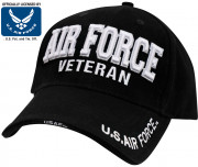 Rothco Deluxe Low Profile Air Force Veteran Cap 3959