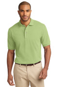 Port Authority Men's Pique Knit Polo Pistachio