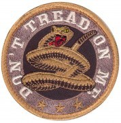 Rothco Airsoft Velcro Patch - Don't Tread On Me Morale Patch # 73193