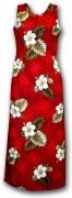 Pacific Legend Long Tank Hawaiian Dresses - 321-2798 Red