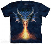 The Mountain T-Shirt Fire Breather 105921