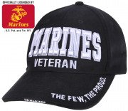 Rothco Deluxe Low Profile Marines Veteran Cap 3956