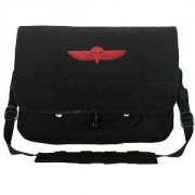 Rothco Israeli Paratrooper Shoulder Bag Black 8127
