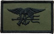 Нашивка U.S.N. Navy Seals Subdued Patch