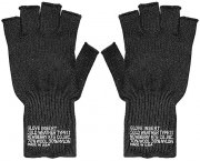 Перчатки Newberry Knitting® Cold Weather Fingerless Glove Insert Type II - Black - 8411
