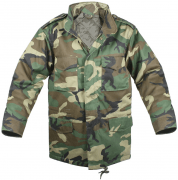 Rothco M-65 Field Jacket Woodland Camo 7991