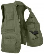 Rothco Plainclothes Concealed Carry Vest Olive 8567