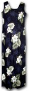 Pacific Legend Long Tank Hawaiian Dresses - 321-2798 Black