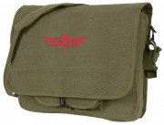 Rothco Canvas Israeli Paratrooper Bag Olive Drab 8128