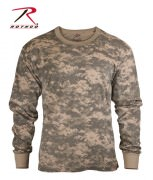Футболка детская Rothco Kid's Long Sleeve ACU Digital Camo
