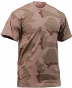 Rothco T-Shirt Tri-Color Desert Camouflage 8767