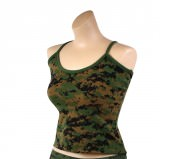 Rothco Women Tank Top - Woodland Digital Camo - 4977