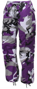 Rothco Womens Paratrooper Pant Ultra Violet Camo 3783