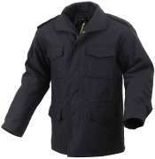 Rothco M-65 Field Jacket Black 8444