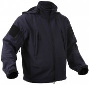 Rothco Special Ops Tactical Soft Shell Jacket Midnite Navy Blue - 9511