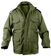 Rothco Soft Shell Tactical M-65 Jacket Olive Drab - 5744