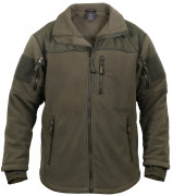 Rothco Spec Ops Tactical Fleece Jacket Olive Drab 96675