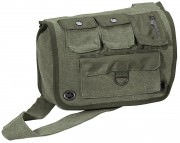 Rothco Vintage Canvas Venturer Survivor Shoulder Bag Olive Drab 9386