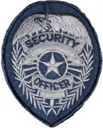 Нашивка Security Officer Silver Patch