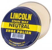 Lincoln U.S.M.C. Stain Wax Shoe Polish - Neutral # 20110