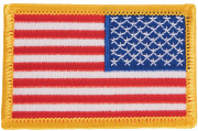 Rothco U.S. Flag Patch Full Color / Reverse (77 x 51 мм) 17777