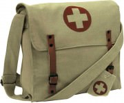 Rothco Vintage Medic Bag With Cross Khaki 9121