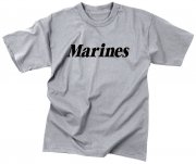 Rothco Kids Marines Physical Training T-shirt Grey 66032