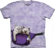 Футболка The Mountain - Fanny Pack Kittens - 103693